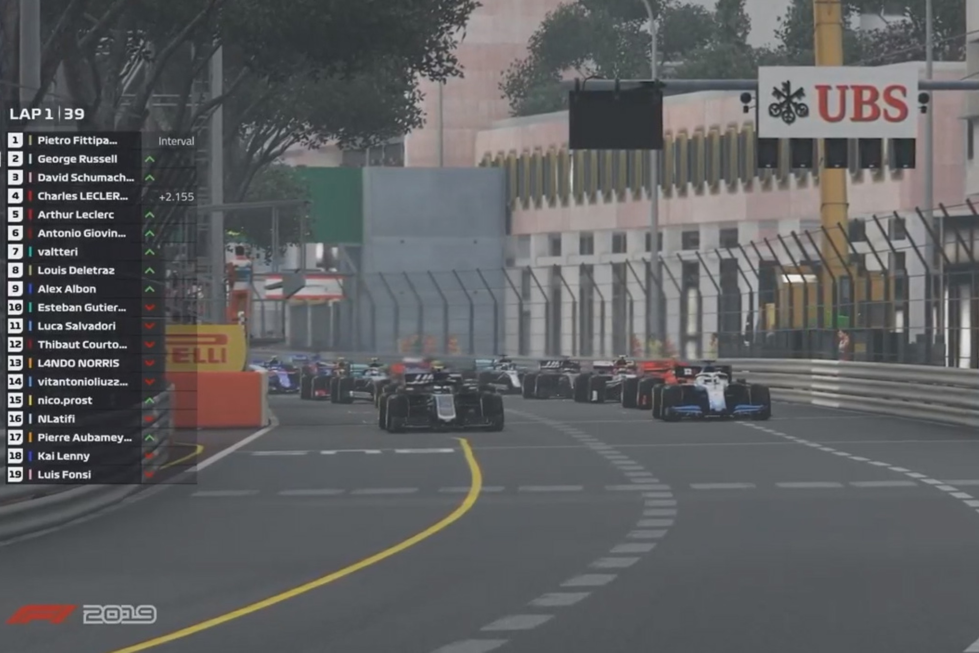 George Russell dominates in Monaco for back-to-back virtual F1 race wins