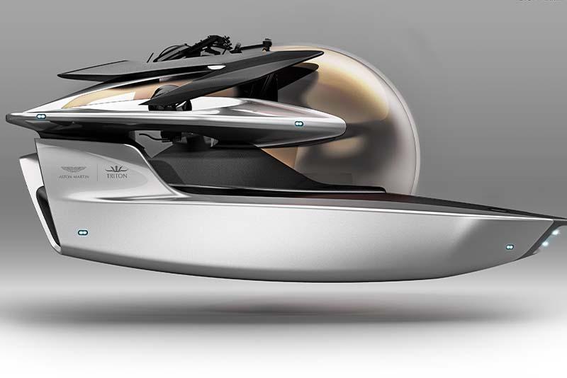 Aston Martin Triton submarine