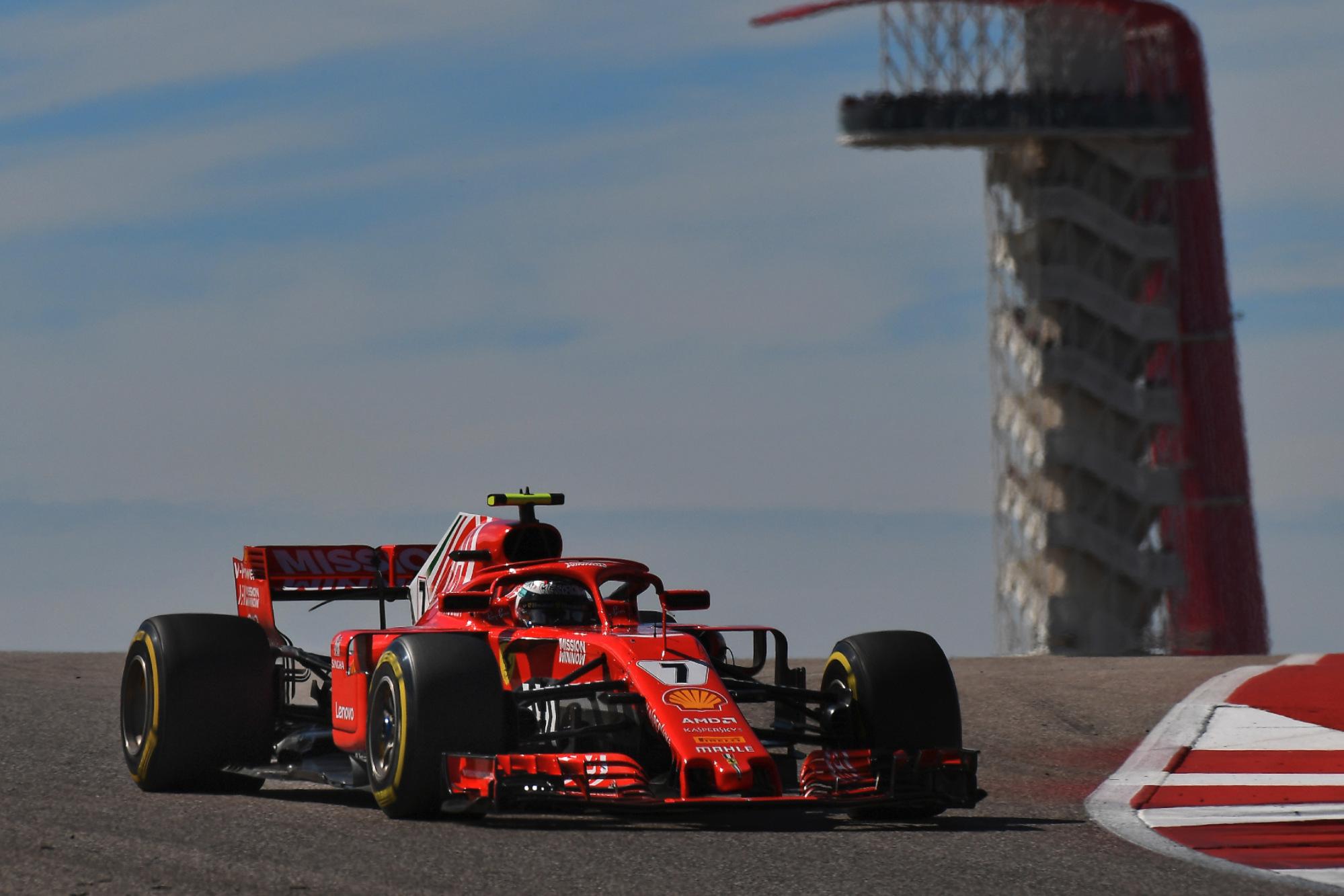 Kimi Raikkonen, 2018 United States GP