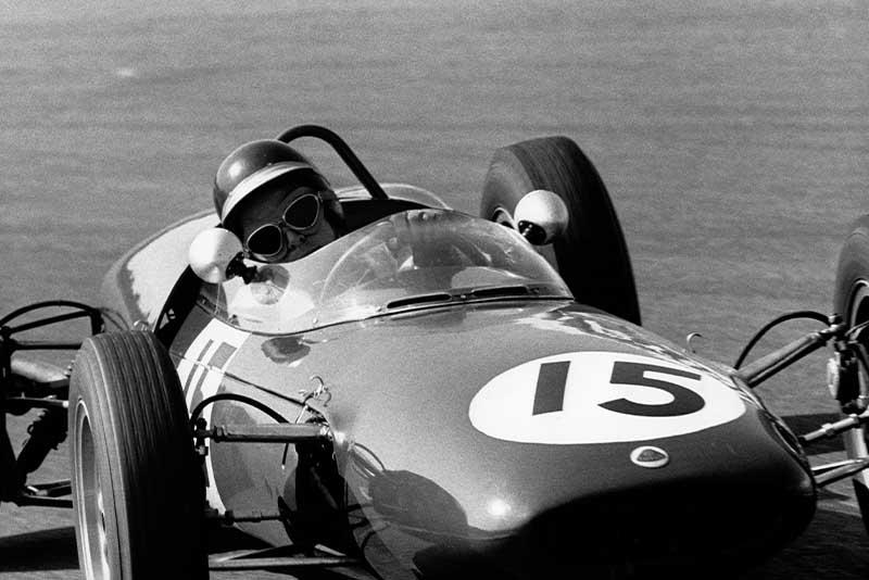 Jim Clark Lotus 21 Dutch GP