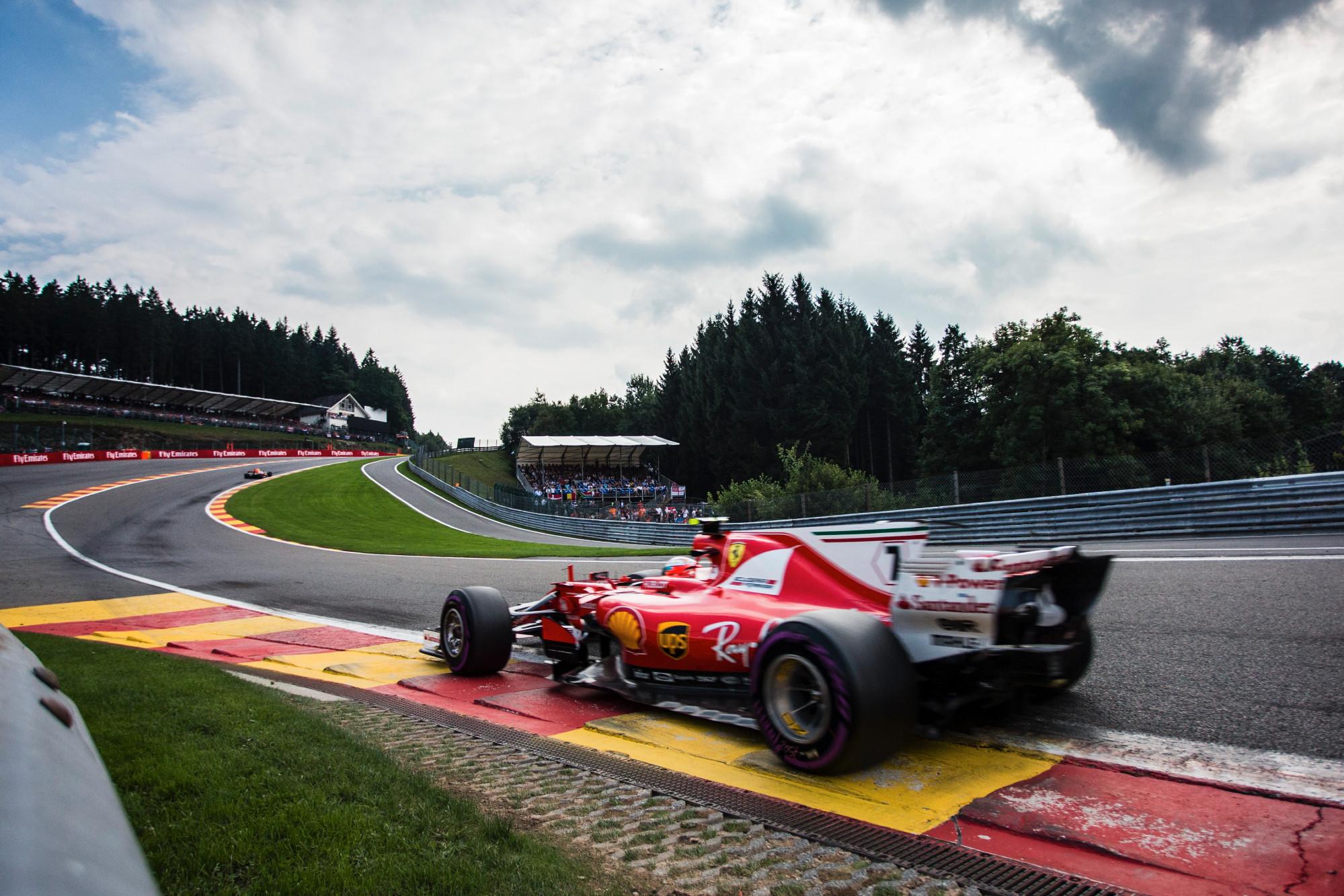 Kimi Raikkonen, Belgian GP 2017