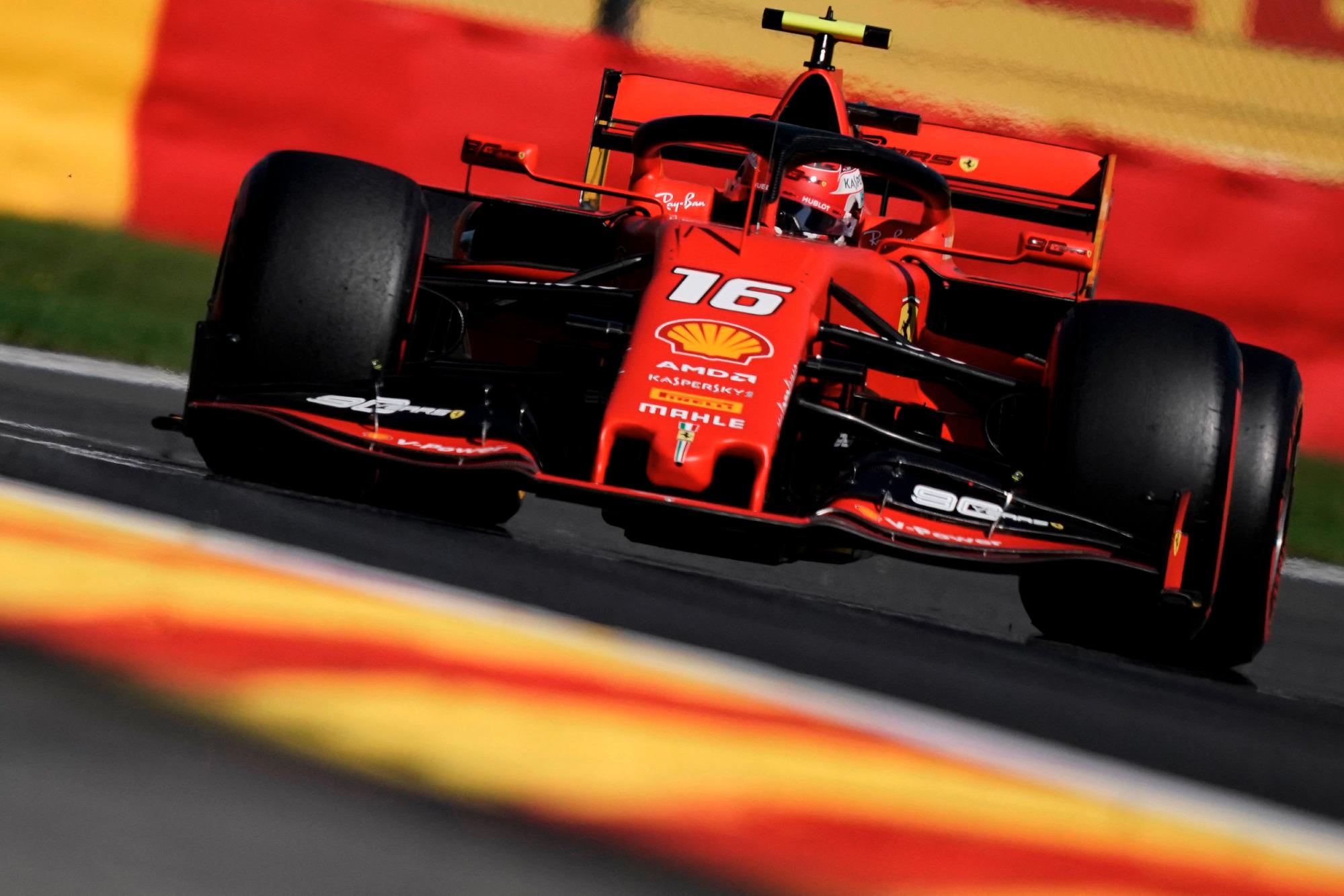Charles Leclerc, 2019 Belgian GP