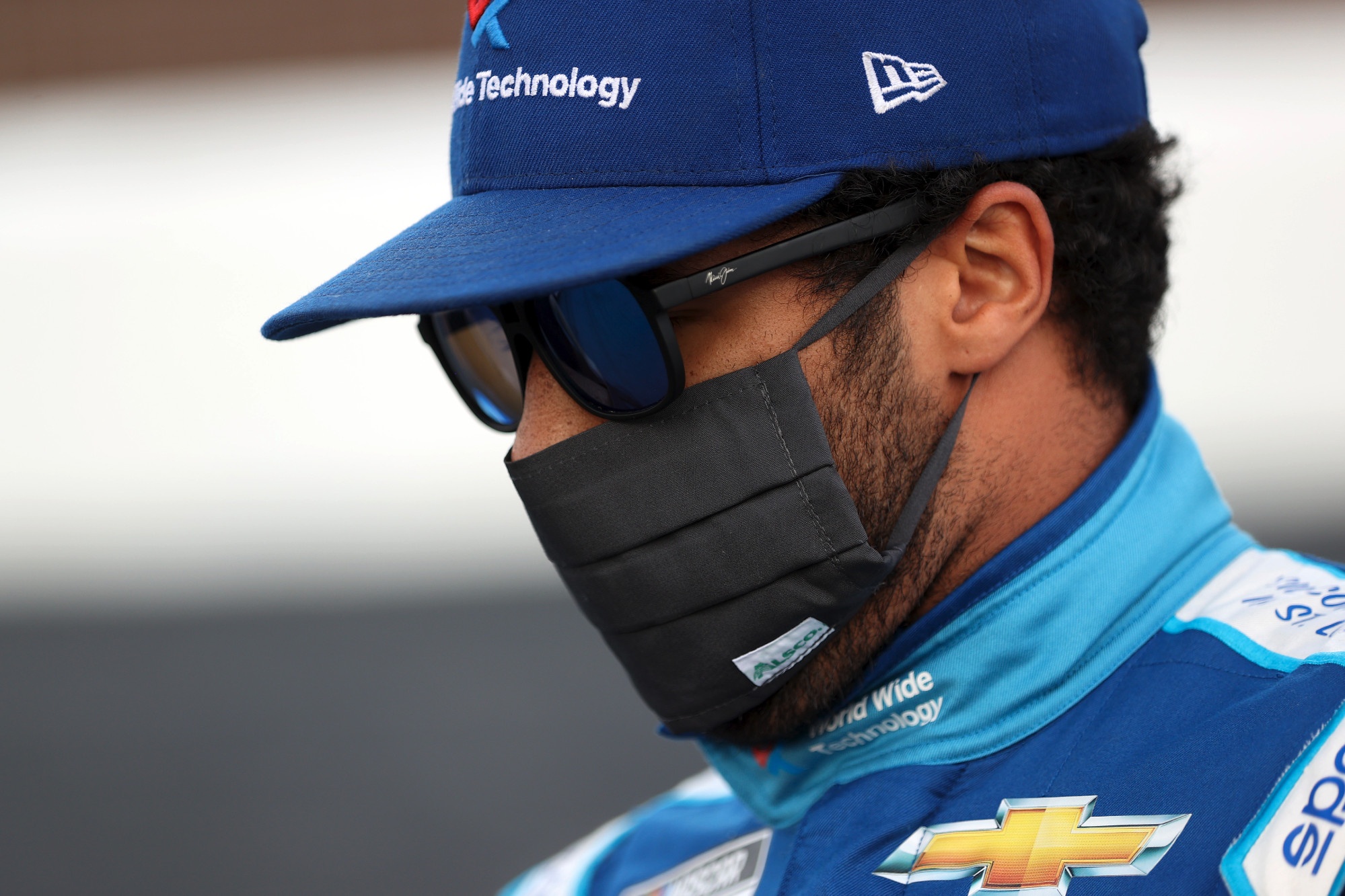 NASCAR driver Bubba Wallace says he is racially abused daily on social media