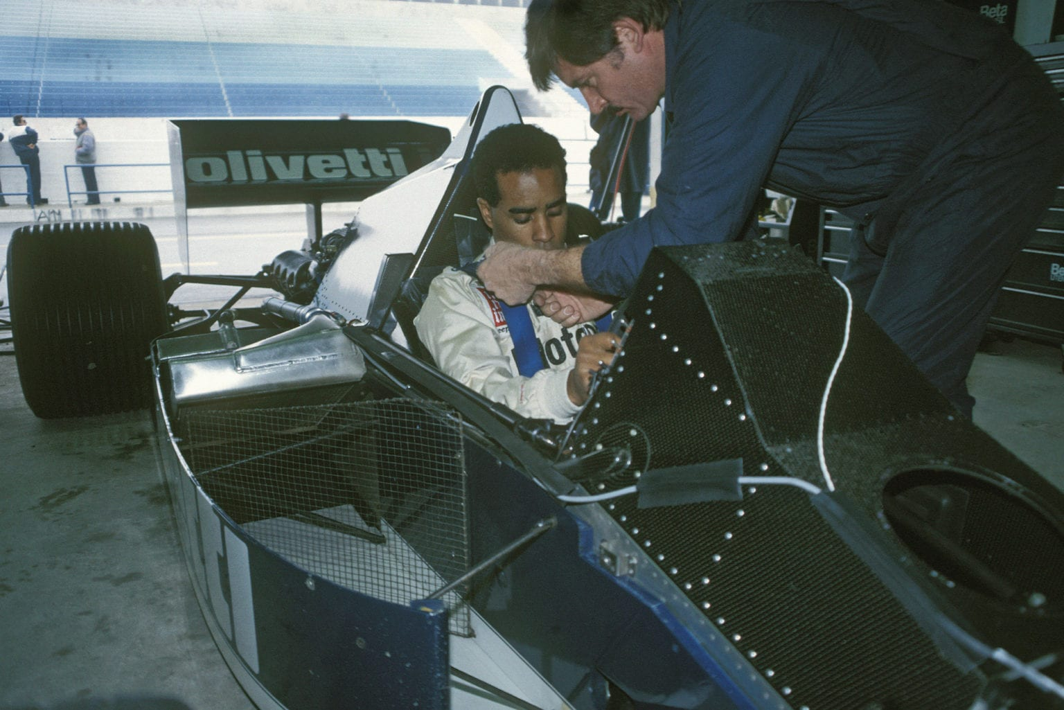 Willy-T-Ribbs-testing-for-Brabham-F1-at-