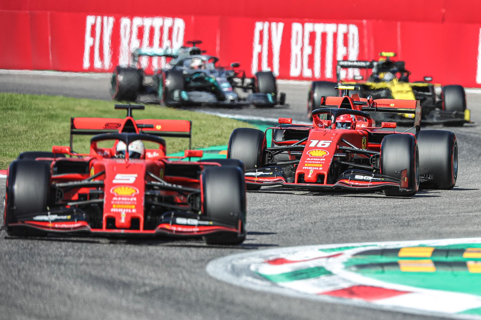 2019 Italian GP qualifying, Charles Lelcerc