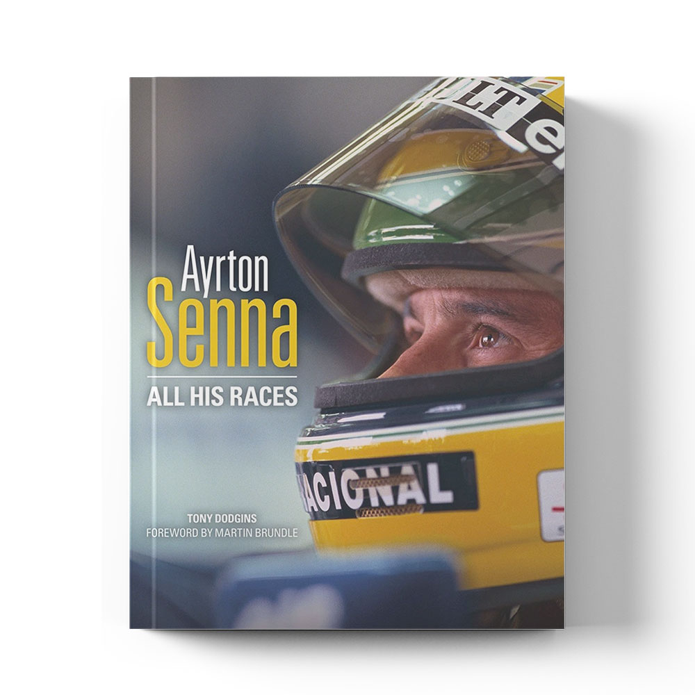 Product image for Ayrton Senna: All his races by Tony Dodgins