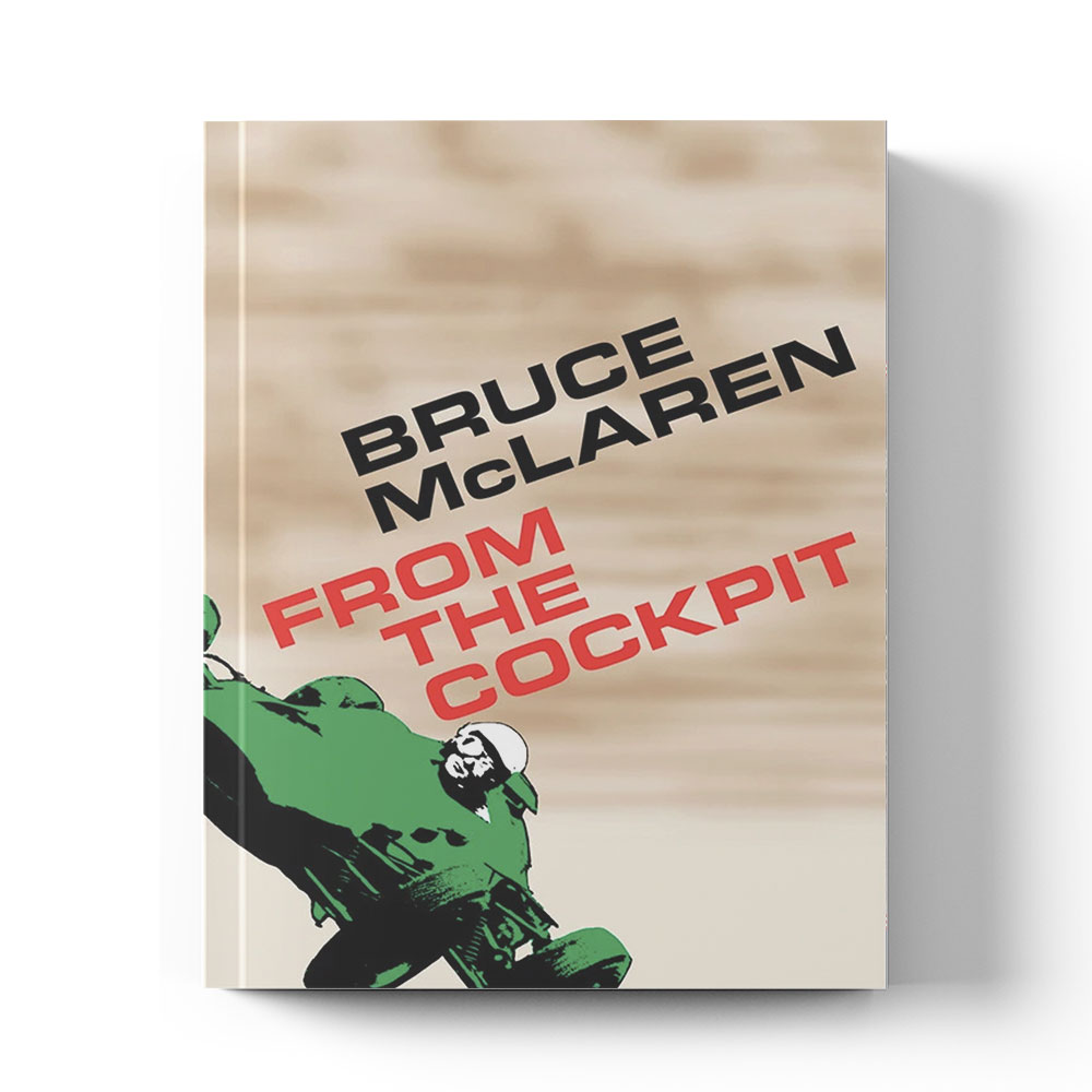 Product image for Bruce McLaren: From the cockpit by Bruce McLaren