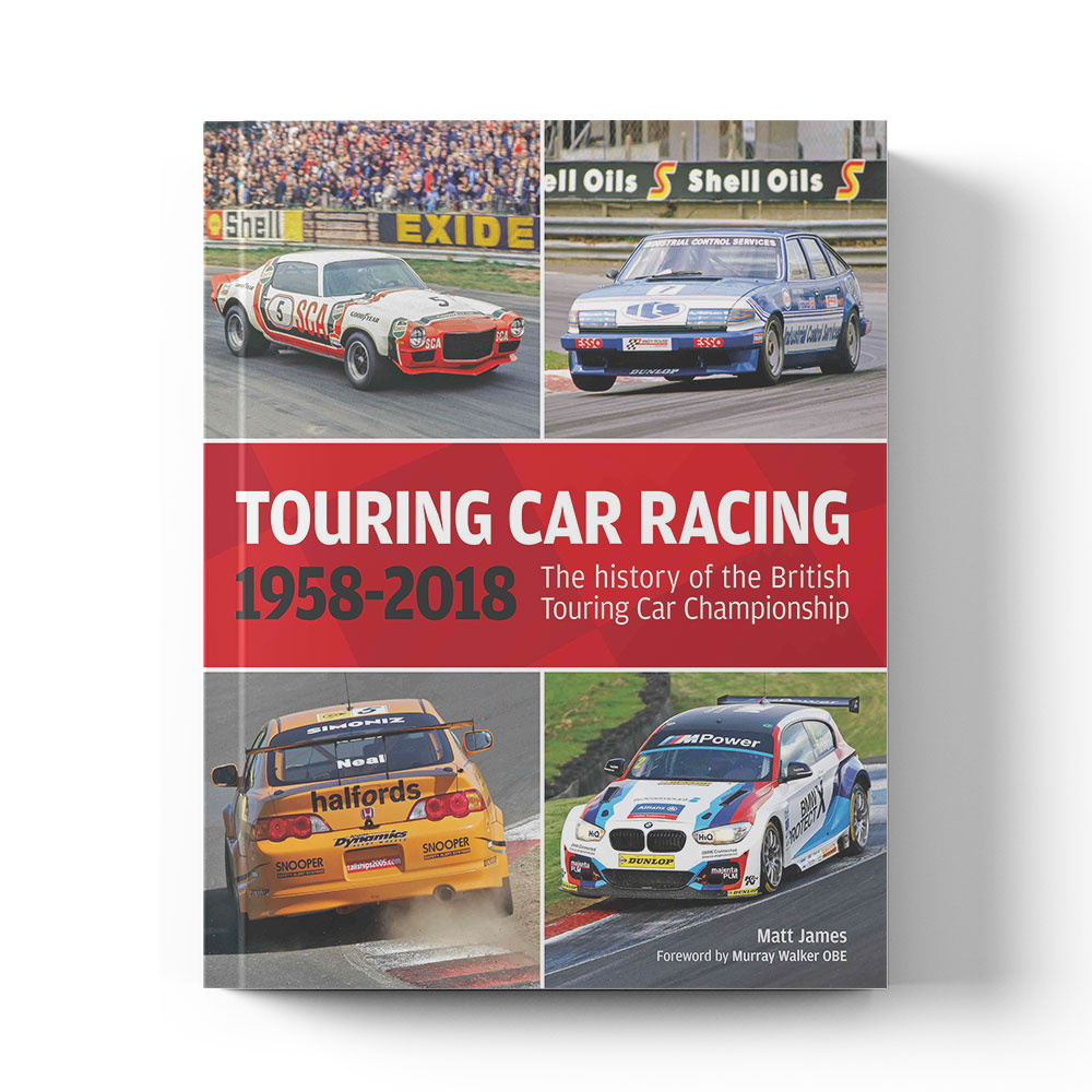 Product image for The history of the British Touring Car Championship 1958–2018