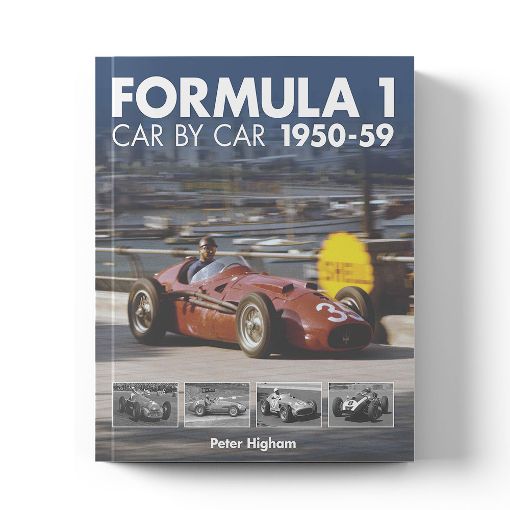 Product image for Formula 1 Car by Car 1950–59 by Peter Higham