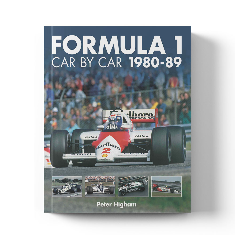 Product image for Formula 1 Car by Car 1980–89 by Peter Higham