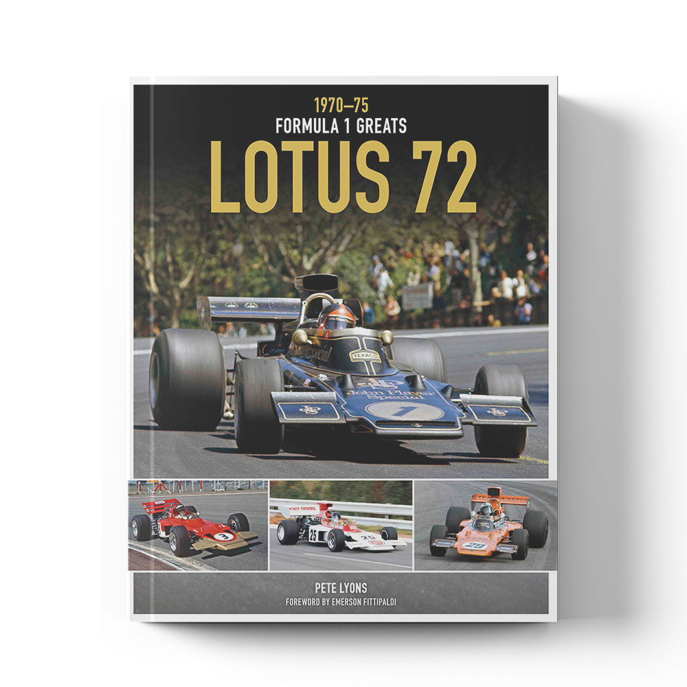 Product image for Lotus 72 1970–75 by Pete Lyons