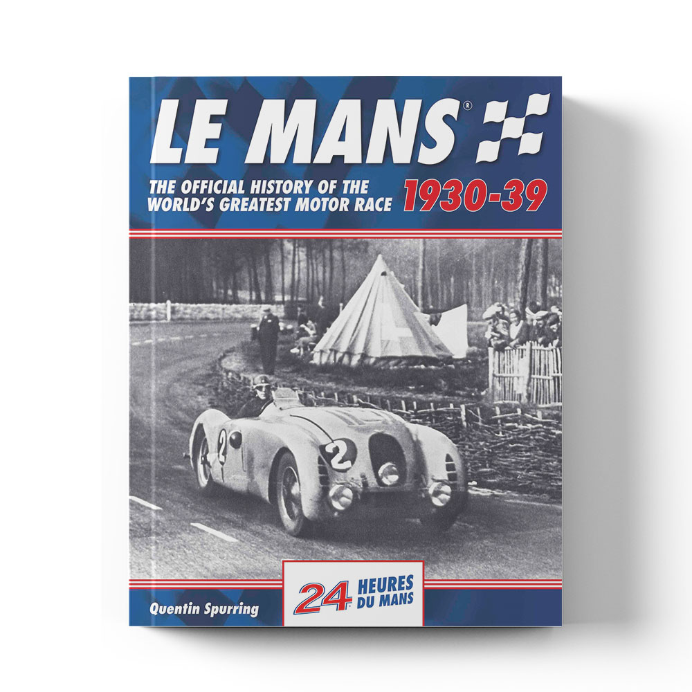 Product image for Le Mans: The Official History 1930–39 by Quentin Spurring