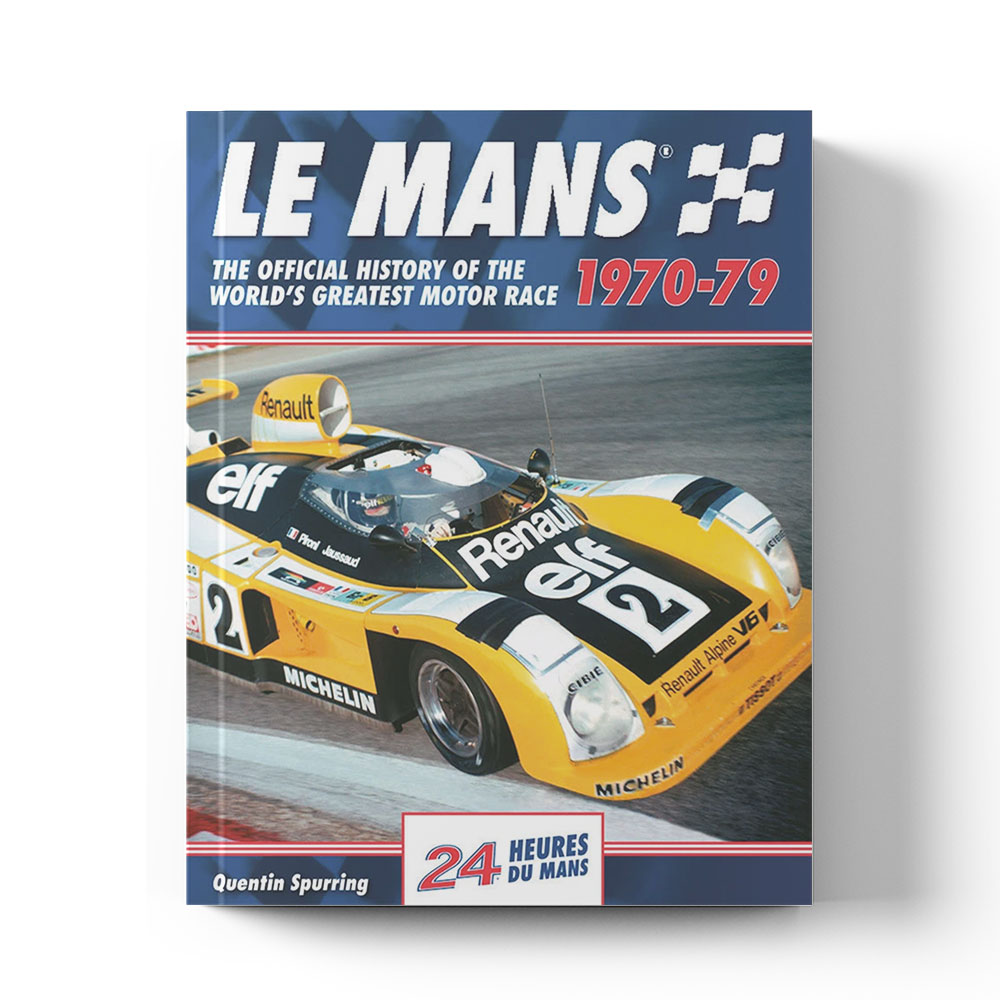 Product image for Le Mans: The Official History 1970–79 by Quentin Spurring