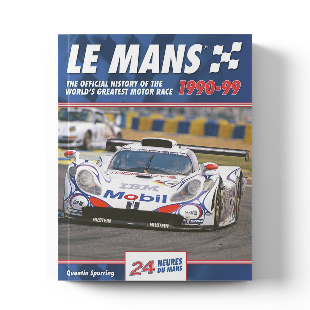 Product image for Le Mans: The Official History 1990–99 by Quentin Spurring