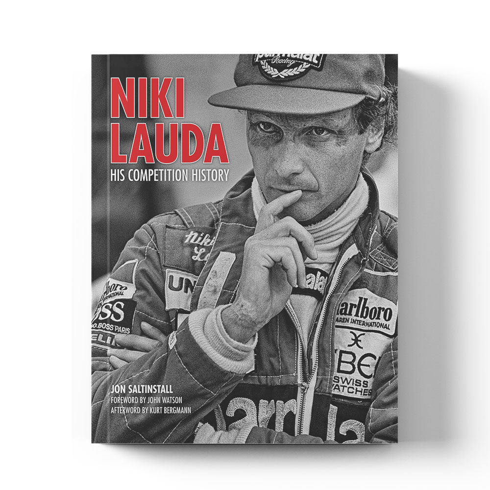Product image for Niki Lauda: His competition history by Jon Saltinstall
