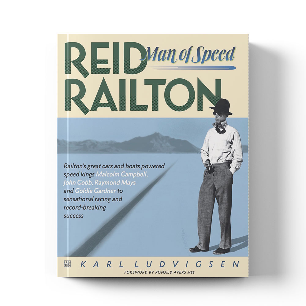 Product image for Reid Railton: Man of speed by Karl Ludvigsen