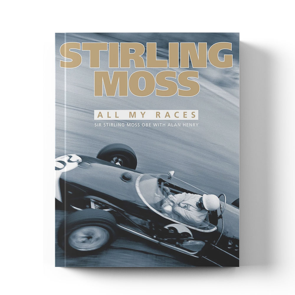 Product image for Stirling Moss: All my races by Sir Stirling Moss with Alan Henry