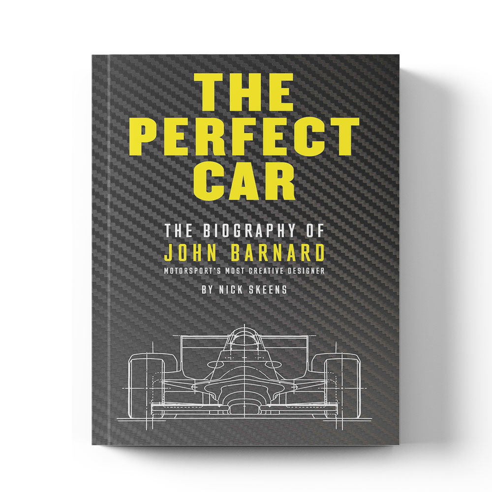 Product image for The Perfect Car: The story of John Barnard by Nick Skeens