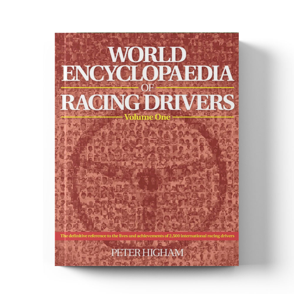 Product image for World Encyclopaedia of Racing Drivers by Peter Higham