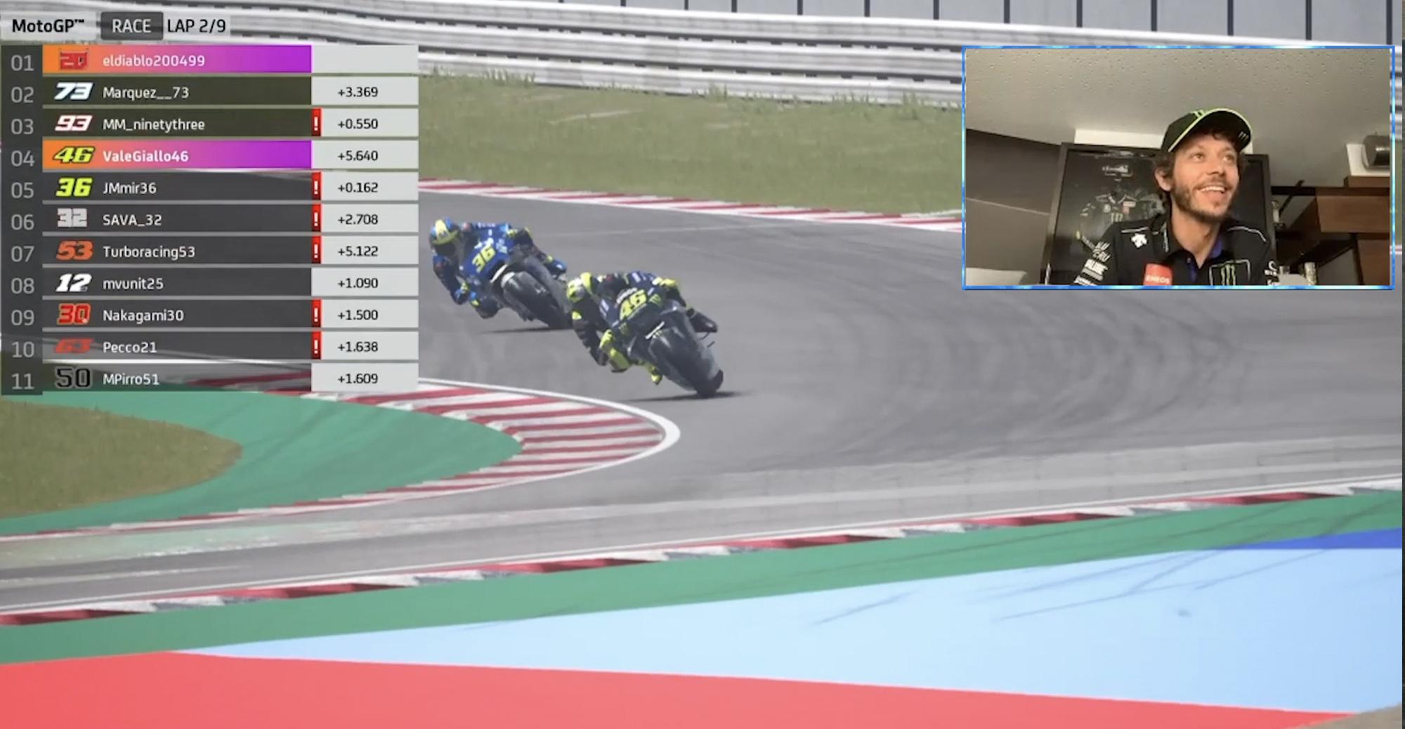 Valentino Rossi Virtual MotoGP