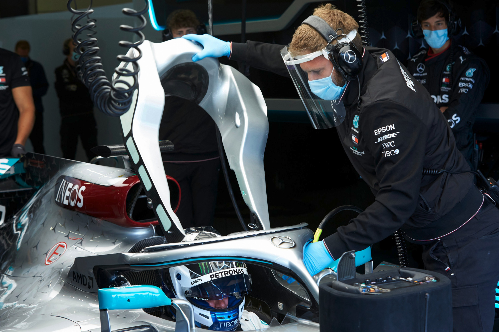 Mercedes begins F1 testing at Silverstone with Covid-19 safety measures