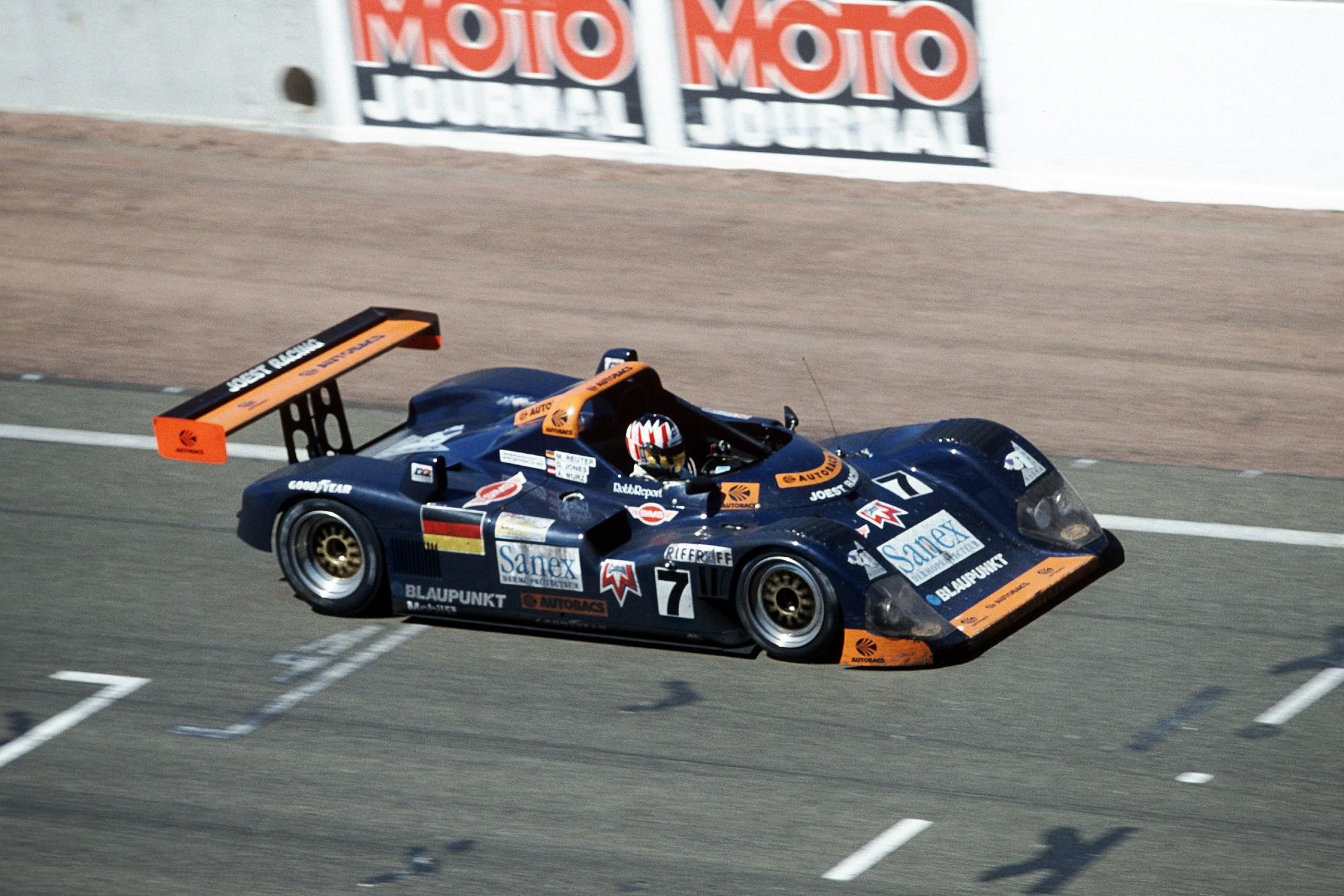 Porsche WSC Spyder, 1996 Le Mans
