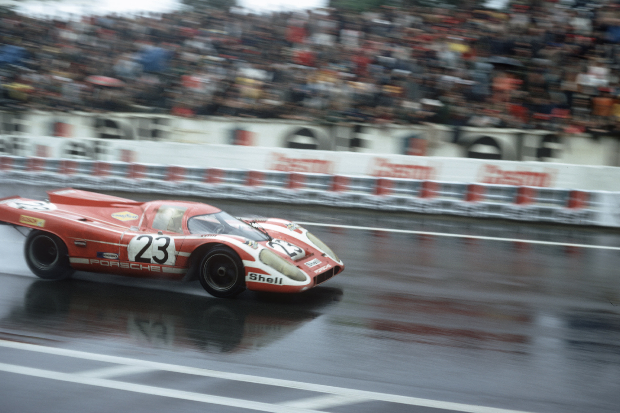 """There was no euphoria, I was absolutely drained"" Richard Attwood on winning Le Mans '70"