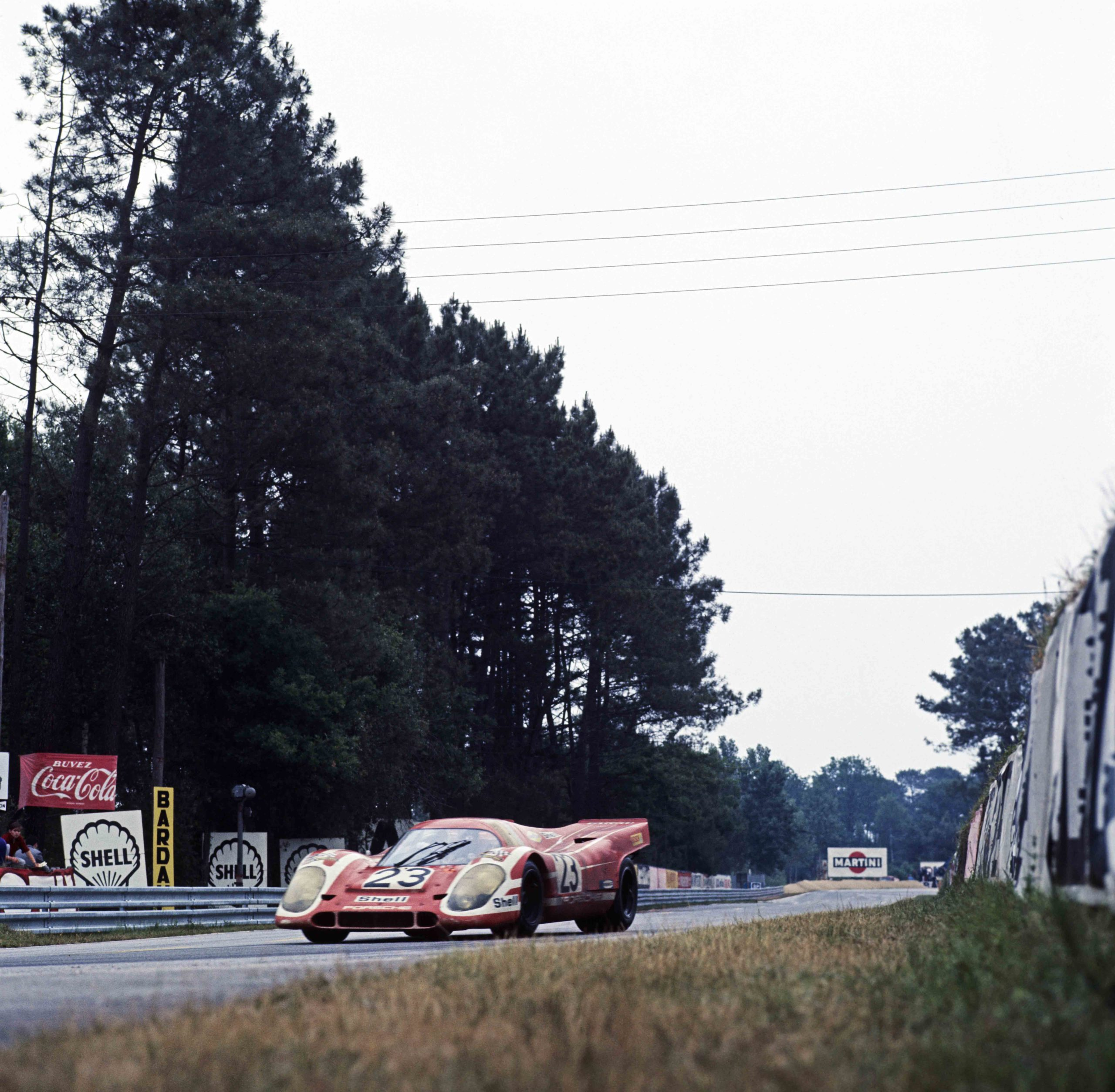 Attwood and Herrmann car No23 at the 1970 Le Mans 24 Hours