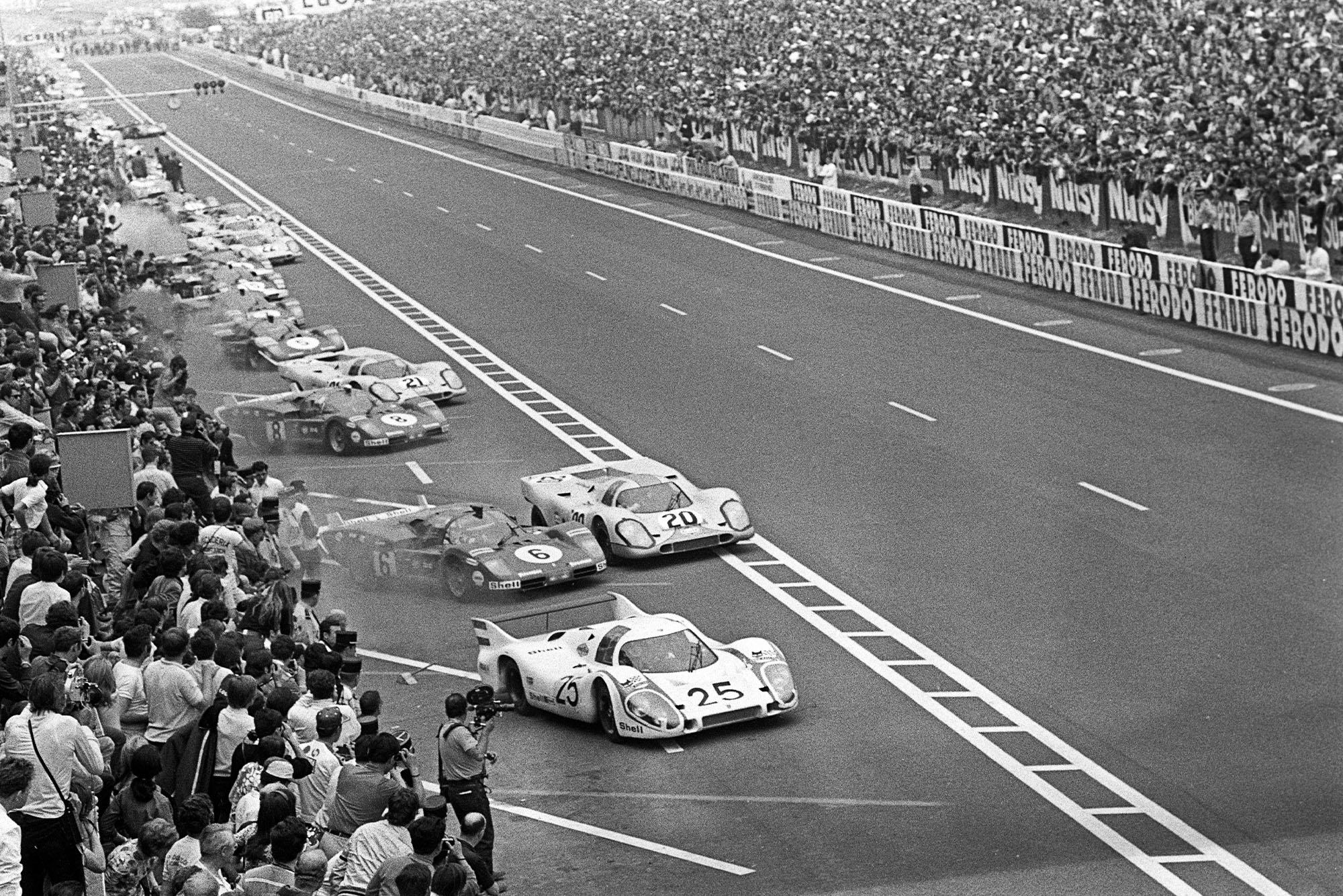 1970 Le Mans 24 hours race start
