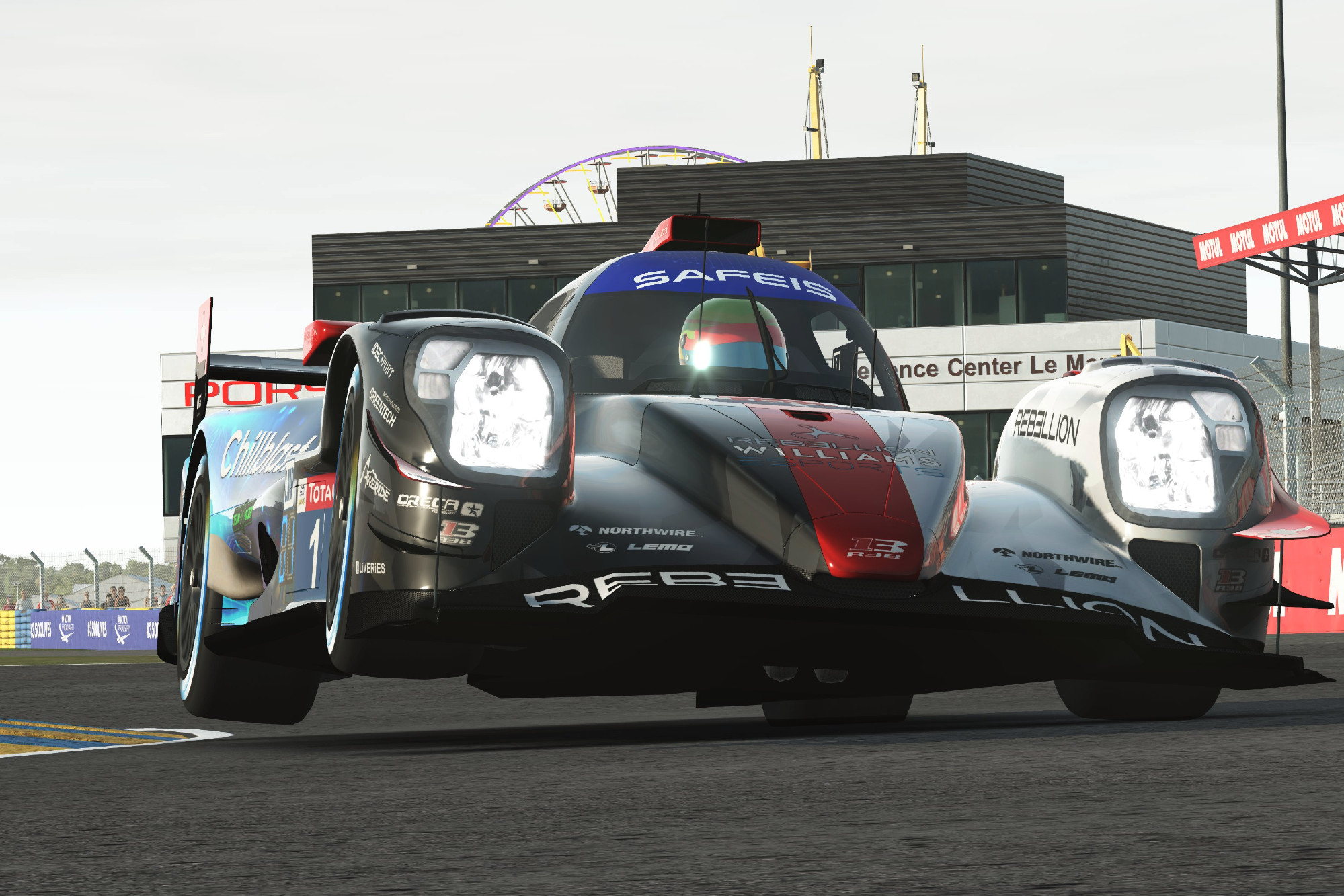 Rebellion Williams Esports wins Virtual Le Mans 24 Hours