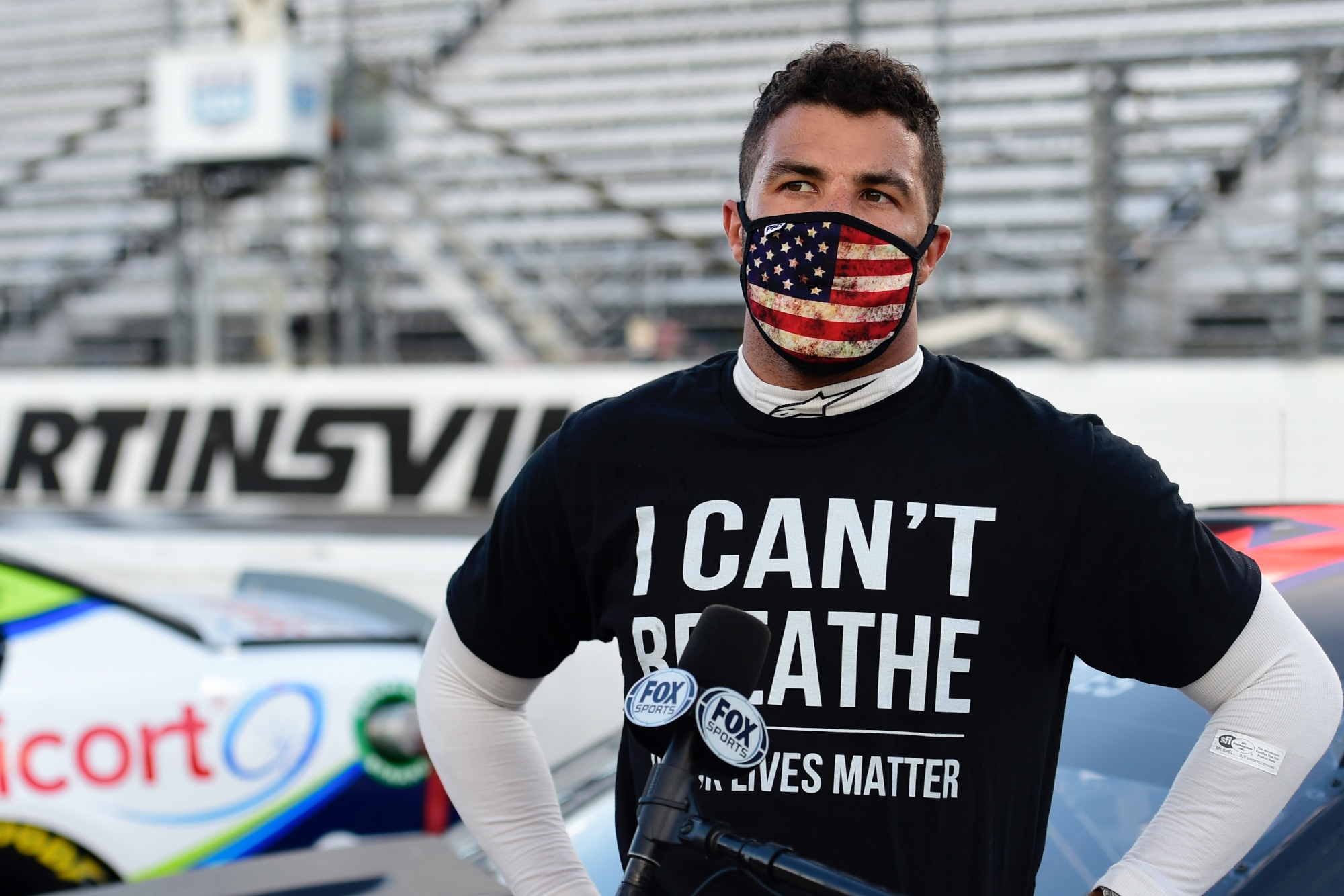 Bubba Wallace, Martinsville 2020
