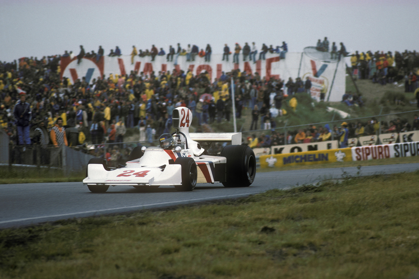 Zandvoort 1975: Hesketh Racing's only Grand Prix win