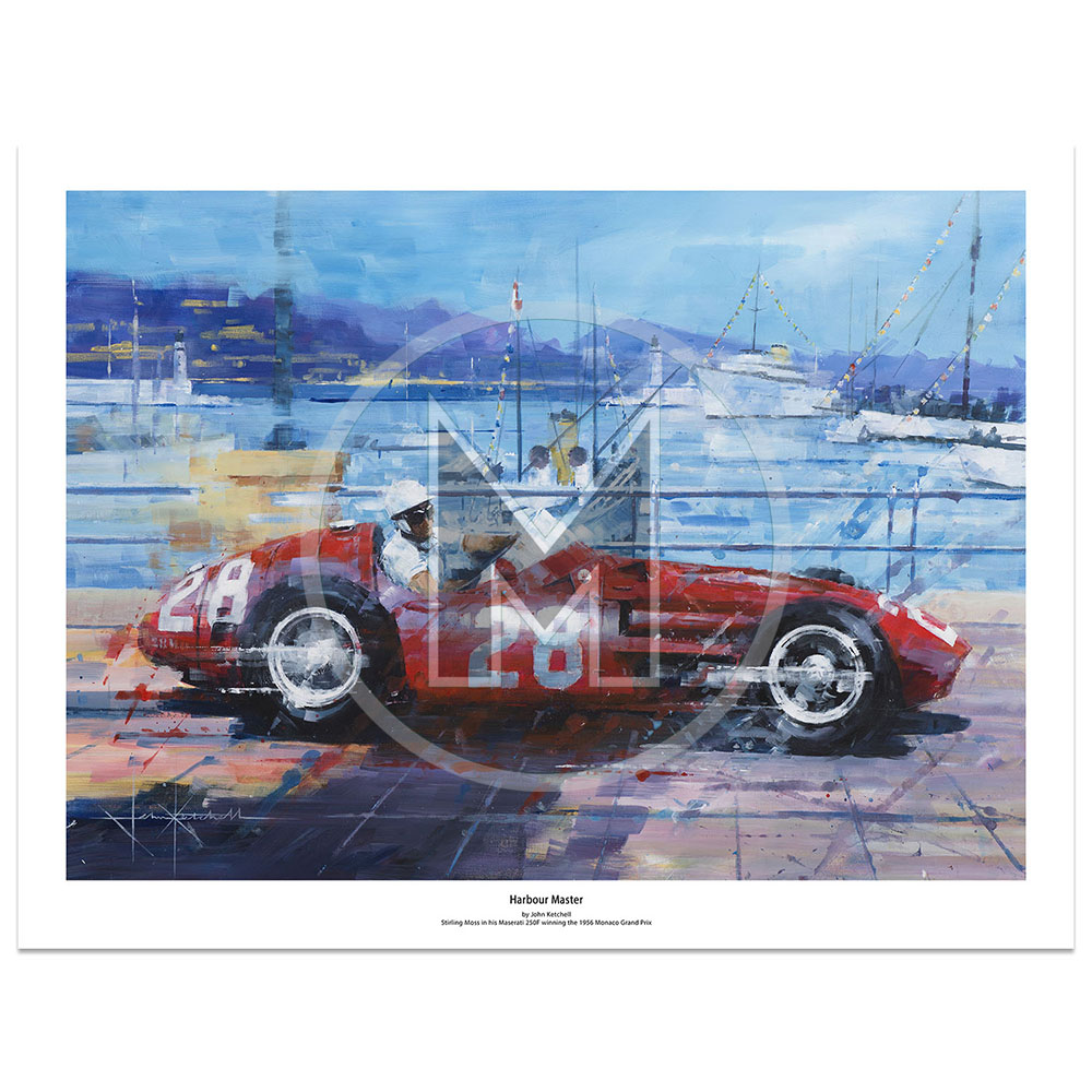 Product image for Harbour Master | Limited Edition Print