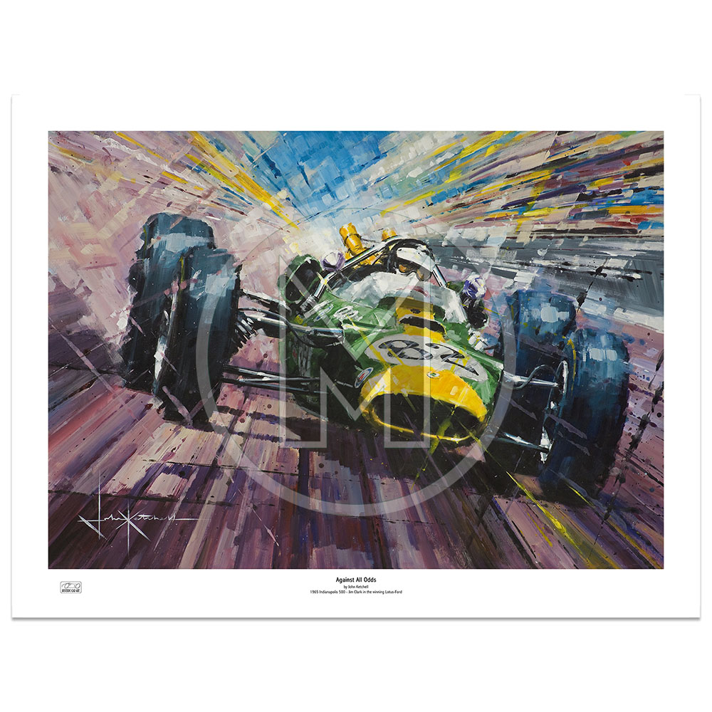 Product image for Against All Odds | Limited Edition Print