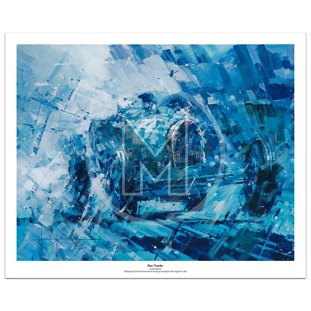 Product image for Blue Thunder | Limited Edition Print