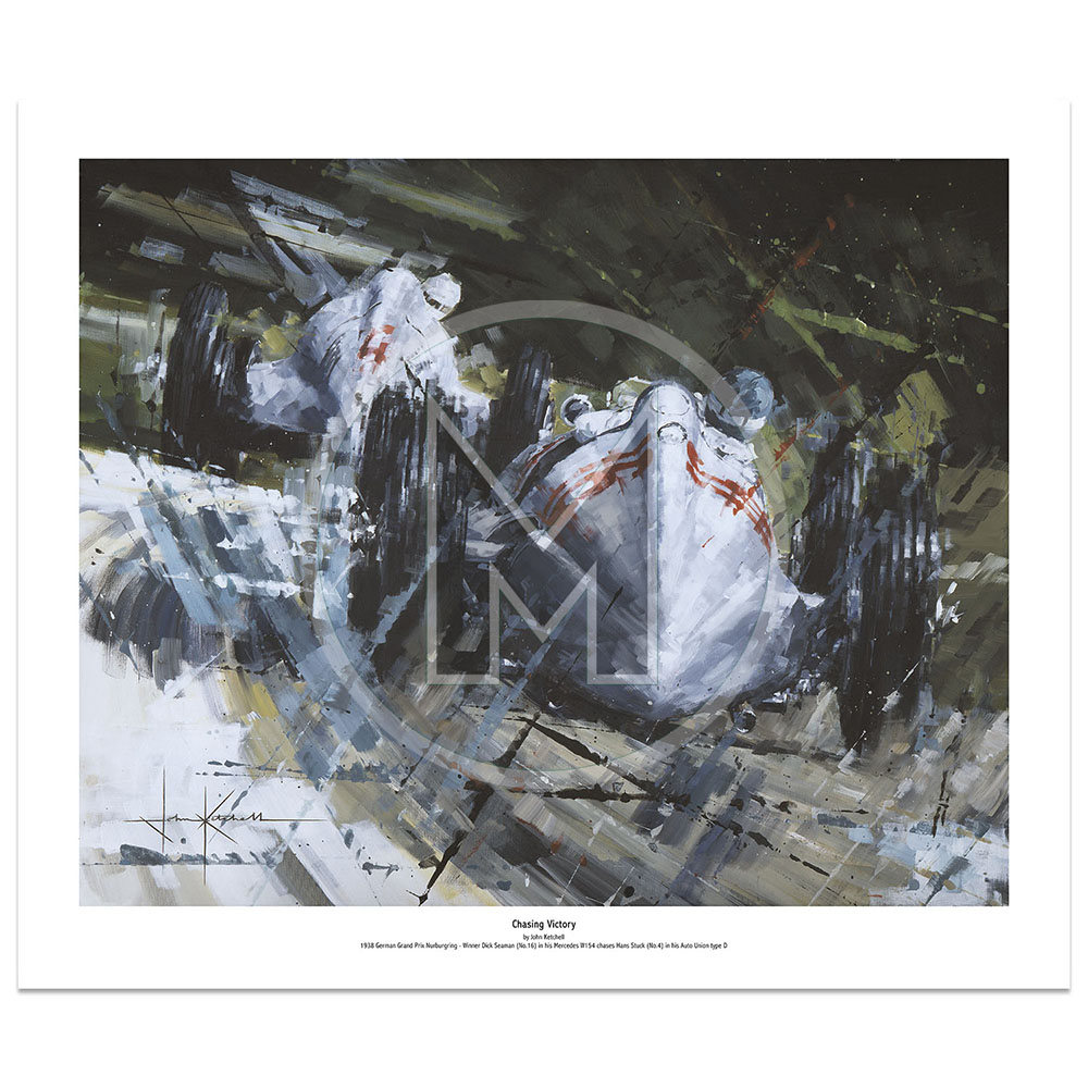 Product image for Chasing Victory | Limited Edition Print |