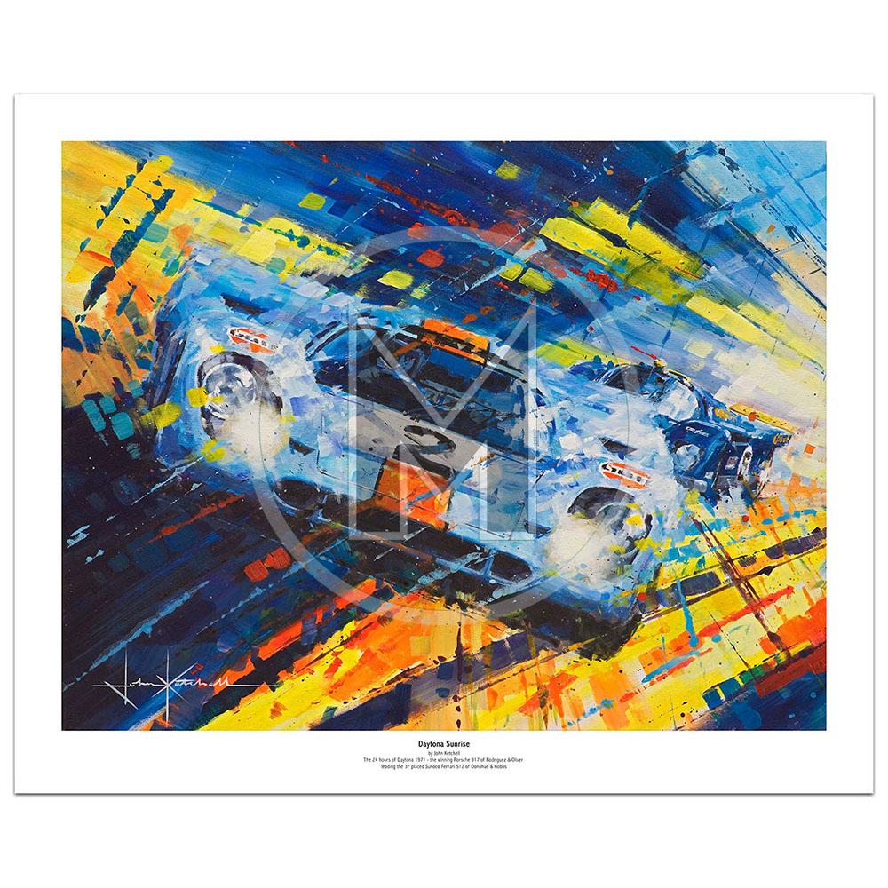 Product image for Daytona Sunrise | Limited Edition Print