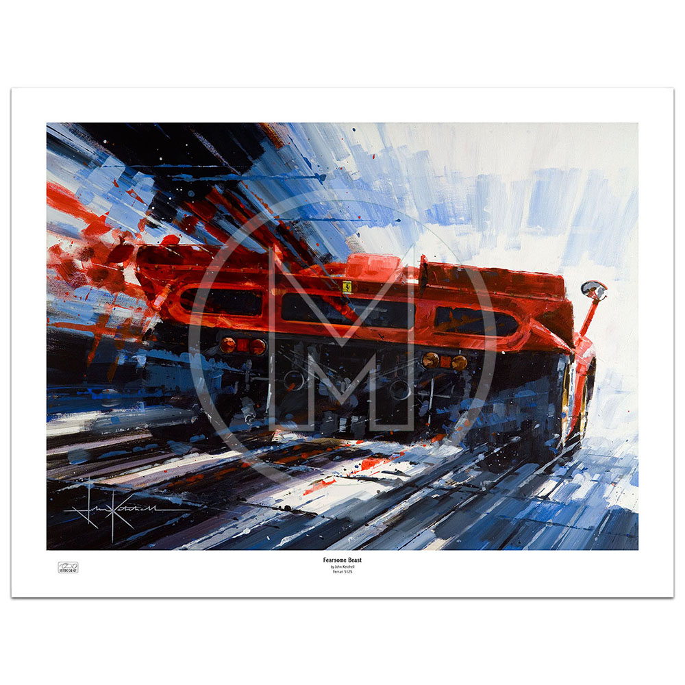 Product image for Fearsom Beast | Limited Edition Print