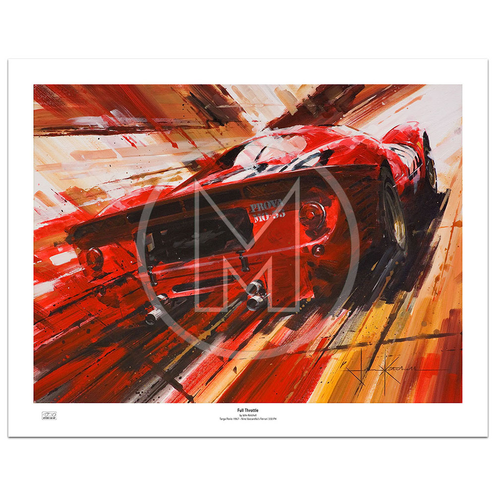 Product image for Full Throttle | Limited Edition Print