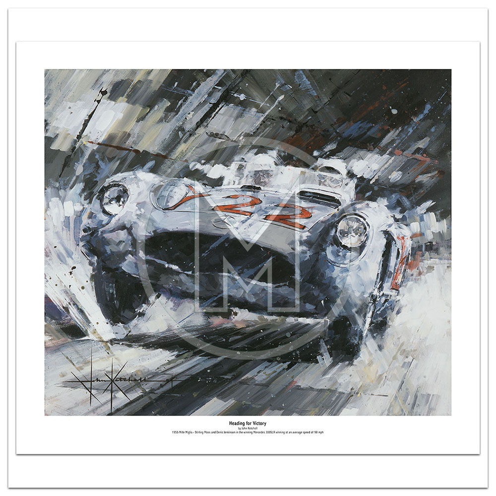 Product image for Heading for Victory | Limited Edition Print