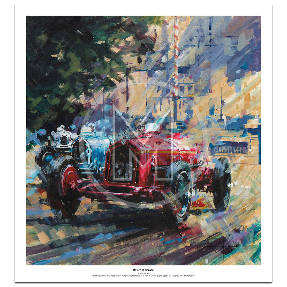Product image for Master of Monaco | Limited Edition Print