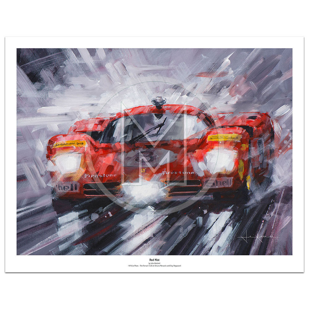 Product image for Red Mist | Limited Edition Print