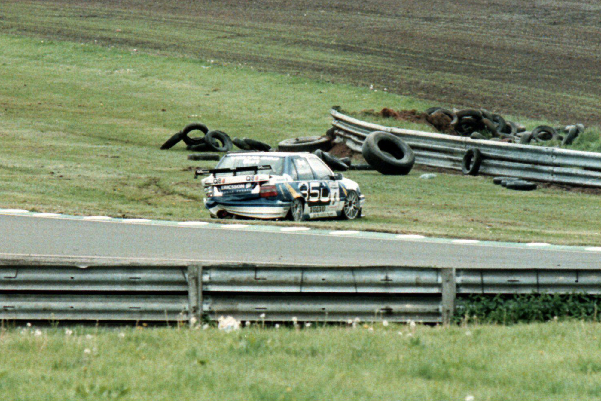 Kelvin Burt BTCC crash