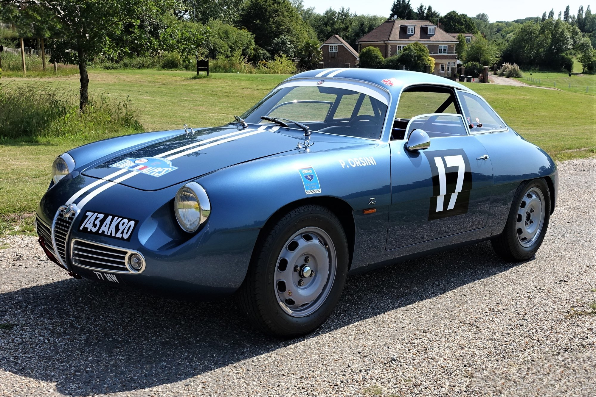 Fully restored 1961 Alfa Romeo Giulietta SZ Zagato up for sale