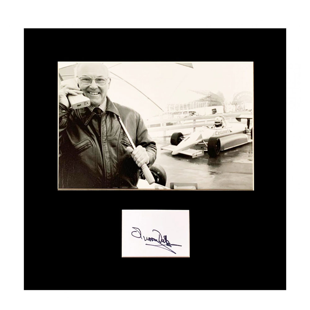 Product image for Signed Murray Walker Photo Display | Formula 1 Autograph