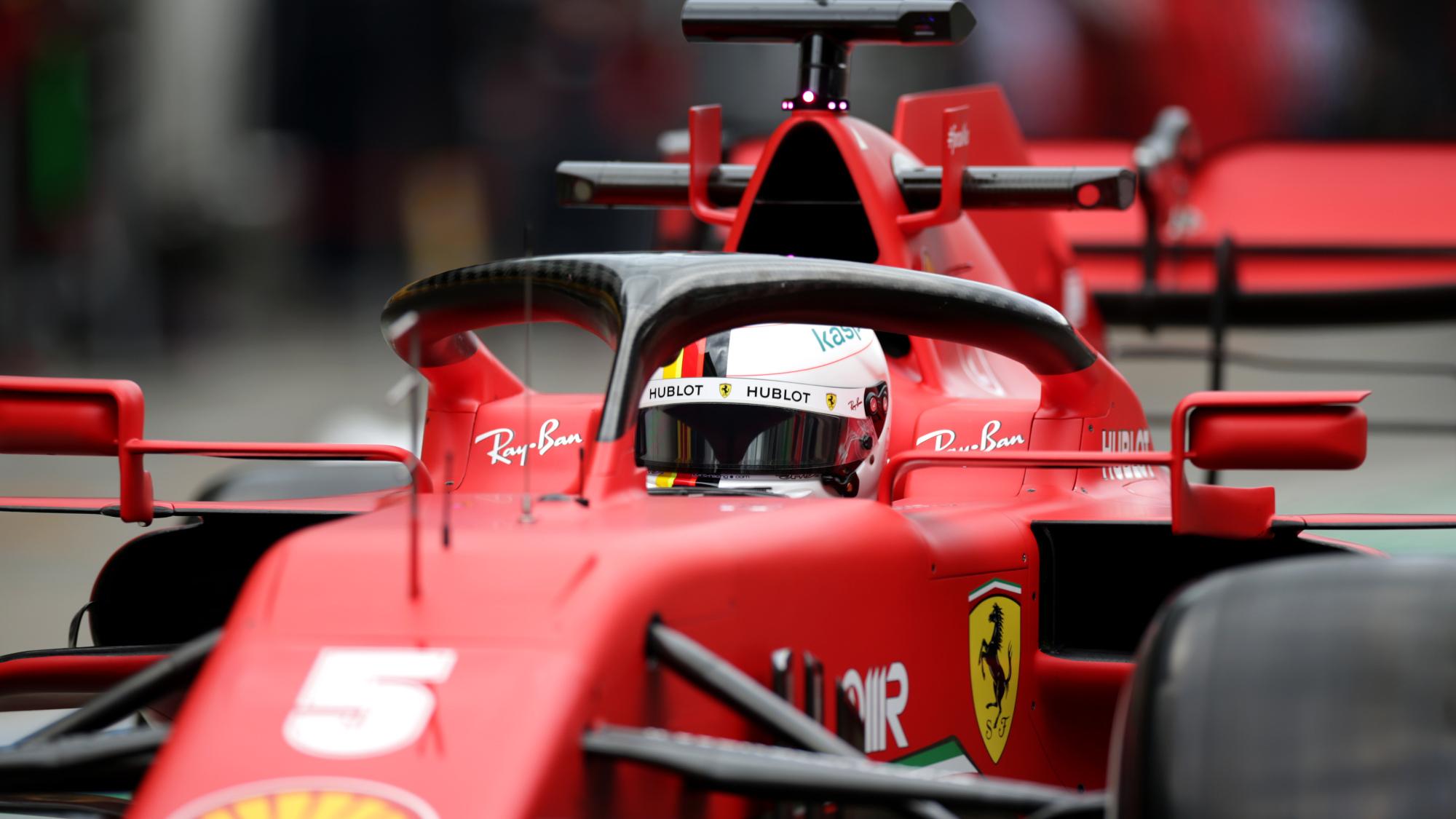 Sebastian Vettel reportedly considering Aston Martin contract for 2021