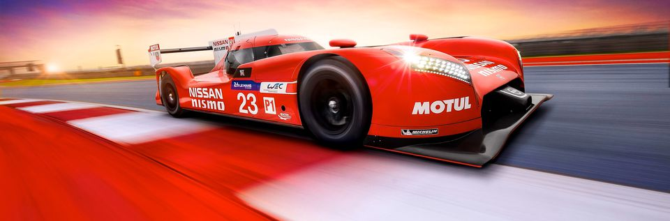 Nissan gt r lm nismo action front three quarters low