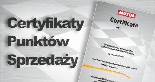 Certyfikaty pos homepage new motul