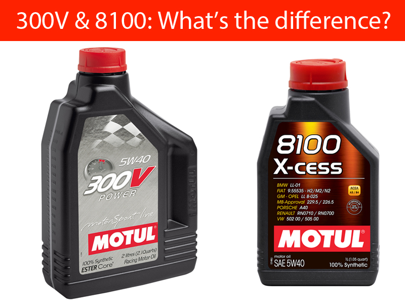 300V & 8100: What's the difference?