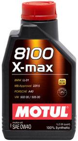 8100 X-max 0W40